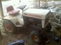 For Sale: Very nice Bolens 1250 tractor, hydraulic