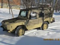 1985 Iltis canadian forces vehicle,narrow wheel base,