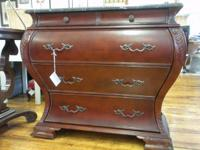 TREASURES ITEM #16833  Stunning four-drawer chest by