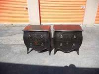 Beutiful coffee table with two matching End tables and