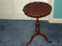 FOR SALE A SMALL TEA TABLE BY THE BOMBAY COMPANY