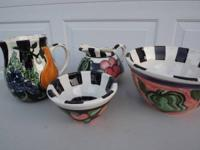 'BON APPETIT' POTTERY - $150 (WEST CHESTER). BEAUTIFUL,