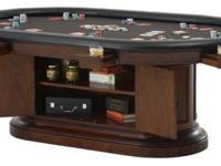 The Boniest video game table accommodates 8 attributes