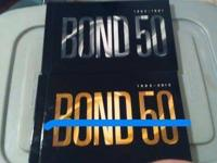 I'm selling the Bond 50 Blu-Ray set, including the