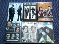 - Bones seasons 1,2,3,4,6 $5 each season - Bones season