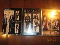 For sale complete 5 seasons of bones. will sell for