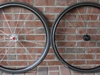 For sale is a set of Bontrager Race-Lite Wheels. These
