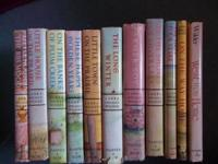 very old set of laura ingalls wilder books great