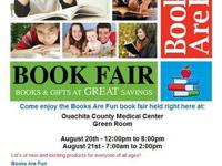 We are having a book fair right here in Camden AR to