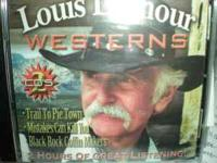 LOUIS L'AMOUR westerns 2 cd's: Trail to pie town,