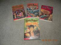 4 Harry Potter Paperback Books