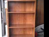 I am selling a nice book shelf Great condition Many