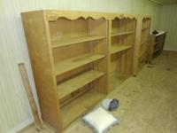 Hi I am selling these book shelfs for $75 a piece. They