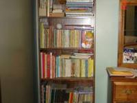 "Bookcase for sale: 72""tall x 24"" wide x 9.5 inches"