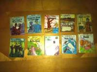 Illustrated Classic Editions books from the late 80's &
