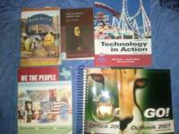 Variety of college books. Let me know which one you