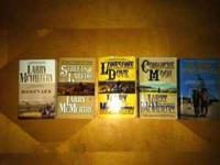 Larry McMurtry books in good condition, $1 each. Would