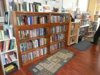 We have a great selection of books, DVD's, CD's, VCR