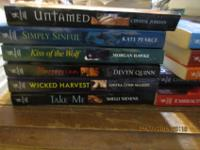 I have 5 books from the Harlequin Intrigue series