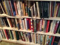 A large collection of fabulous books. Books for the