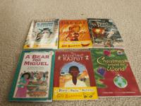 A bunch of different books for sale! Kids' books: .all
