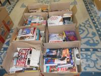 NEW ARRIVAL....WE HAVE 35 BOXES OF GREAT BOOKS !!!!!