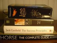 BOOKS FOR SALE-- TOLKIEN, CANFIELD, WATSON, GUYS'S