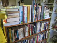 A great deal of books, all kinds of books. Costs start
