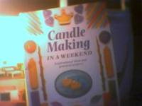 Books on candle making furniture aircraft $5  Location: