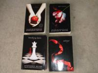 Provided for sale is the TWILIGHT SERIES ~ ~ 4 Book Set