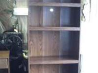 1 bookshelf 25$ and 1 microwave stand 20$ Call  if
