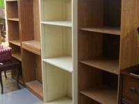 Now, we have four various bookshelf systems! These are