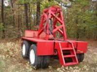 Tandem Axle Boom Dolly, Came off of a Krupp 5090,