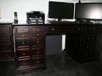 This magnificent desk was purchase from Boom-bay for