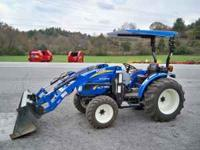 2011 Boomer 50 New Holland Tractor, 4wd, 47hp Diesel,