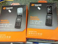 Two new boost mobile phones new in box $15 call or text