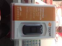 Boost Mobile Samsung Aspect gray in shade. The