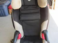 Britax Booster Seat, Frontier model. Purchased 2010,