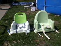 2 booster seats for eating text  or call  Location: new