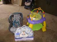 I have up for sale some gently used baby items. Boppy