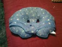 i loved this boppy pillow for my kids it has the strap