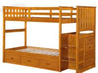 Bunk Bed's by Boraam Industries is perfect for growing