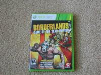 Up for sale is my Borderlands Game Of The Year (GOTY)