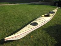 "Boreal Design Kevlar ""Ellesmere"" Touring Kayak with"