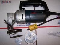 Bosch 1507 10 Guage Unishear Runs Smooth With Tools