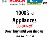 Buy from your Local Bosch Appliance Dealer Appliance