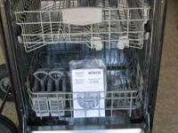 Bosch dishwasher. ss front. I think the drain pump is