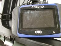 Bosch Encore OTC Scan Tool W/OE Adapters and Manuels,
