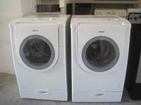 Bosch Front Load Washer * Dryer   King Capacity