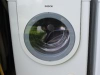 Type: Washer/Dryer Bosch HE front load washer and